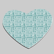 Blue Love Hearts